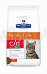 UR HILL'S PD FELINE C/D URINARY STRESS REDUCED CALORIE 1,5 KG ( kot pęcherz struwity otyłośc nadwaga )
