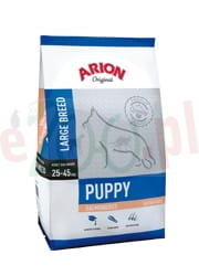 ARION ORIGINAL PUPPY LARGE SALMON & RICE 12 KG