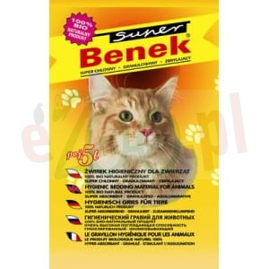 BENEK SUPER NATURAL 5 L (ŻÓŁTY)
