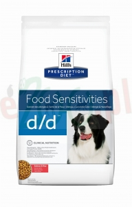 HILL'S PD CANINE D/D SALMON & RICE 5 KG ( alergia łosoś ryż pies skin sensitivities ) 9115