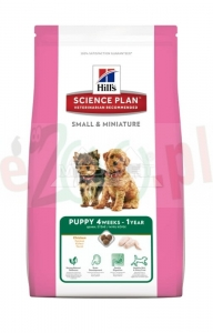 HIT PAKIET 2 X promo HILL'S SP CANINE PUPPY SMALL & MINI CHICKEN 1,5 KG 2817