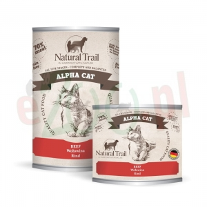 promo NATURAL TRAIL ALPHA CAT 200 G 400 G ( koty wołowina )