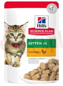 HILL'S SP FELINE KITTEN CHICKEN NEW 85 G ( kocięta ) 604034