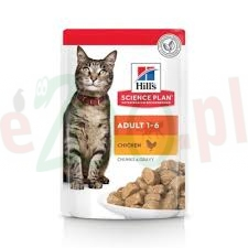HILL'S SP FELINE ADULT CHICKEN NEW 85 G 604003