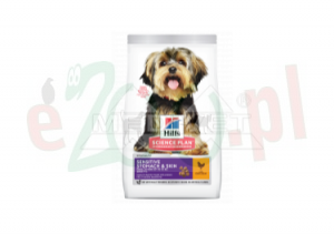 HIT PAKIET 2 X HILL S SP CANINE ADULT SENSITIVE STOMACH SKIN SMALL MINI NEW 1,5 kg ( psy skin derm małe rasy ) 604247
