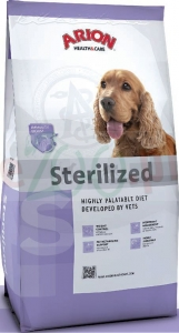 ARION DOG HEALTH & CARE STERILIZED 3 KG ( pies kastrat otyłość )