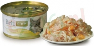 BRIT CAT CARE PUSZKA CHICKEN BREAST & CHEESE 80 G