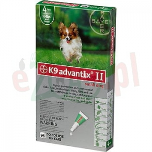 BAYER ADVANTIX SPOT-ON 0,4 ML X 4 PIPETY