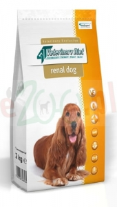 4T VETERINARY DIET DOG RENAL 2 KG ( nerki urinary )