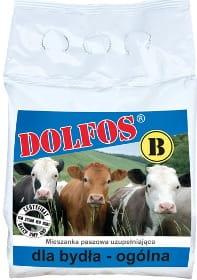 Dolfos DOLLICK B mieszanka mineralno witaminowa dla bydła w formie lizawki 15kg ilość dla 15 krów