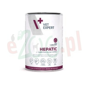 4T VETERINARY DIET DOG HEPATIC 400 G PUSZKA ( wątroba jelita trzustka )