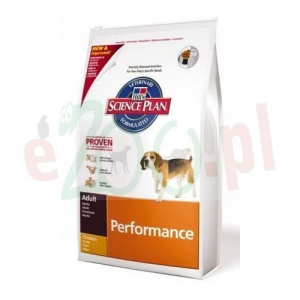 HILL'S CANINE ADULT PERFORMANCE 12 KG ( pies aktywne )